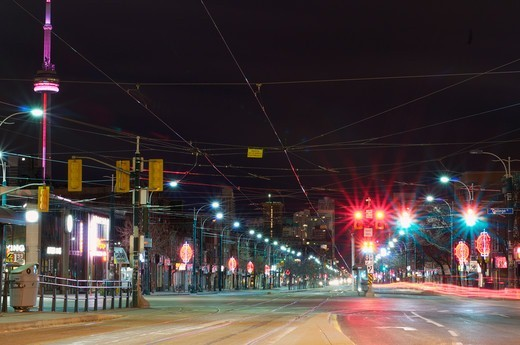 Spadina Ave, Toronto, Ontario, Canada : Stock Photo