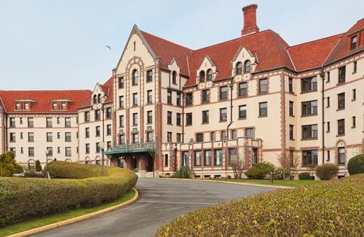 Masonic Retirement Centre, Des Moines, Washington, USA : Stock Photo