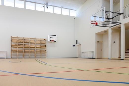 A village school in Metsapoole, Estonia : Stock Photo