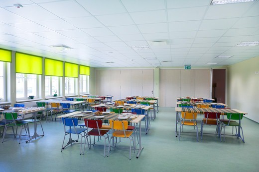 A village school in Metsapoole, Estonia : Stock Photo