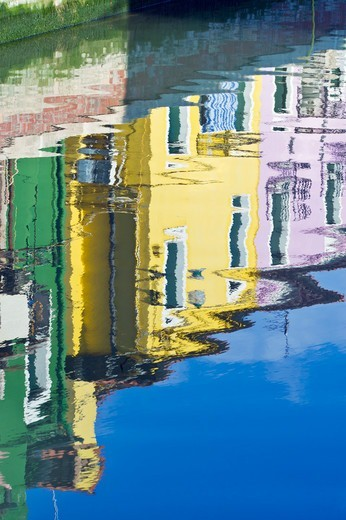 Burano, Venice, Italy : Stock Photo