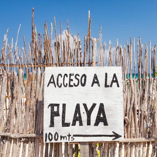 Tulum, Yucatan Peninsula, Quintana Roo, Mexico : Stock Photo