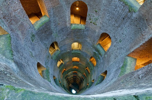 St. Patrick's Well (Pozzo di San Patrizio) : Stock Photo