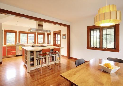 Kitchen In Suburban Home : Stock Photo