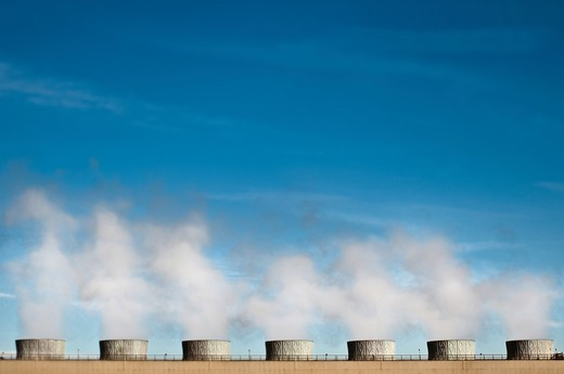 Geothermal Plant : Stock Photo