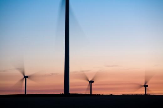 Wind Turbines, Palouse, Washington, USA, North America : Stock Photo