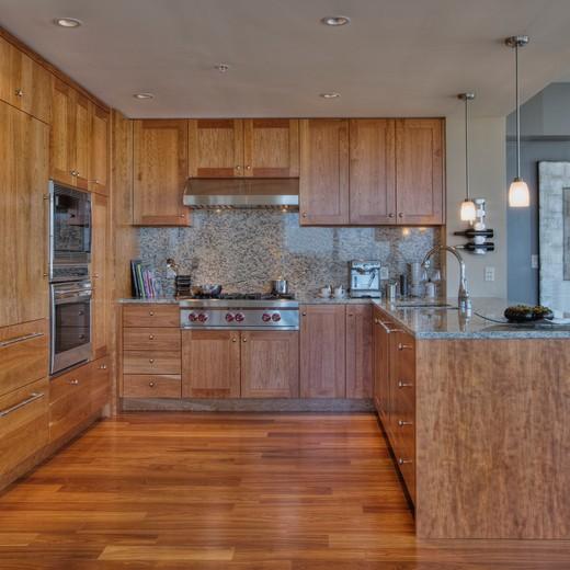 Stove in Luxury Kitchen : Stock Photo