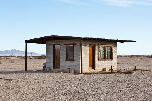Abandoned Desert Home : Stock Photo
