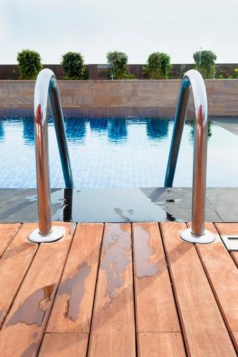 Resort Swimming Pool : Stock Photo