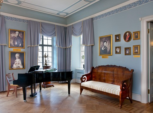 Music Room With a Piano : Stock Photo