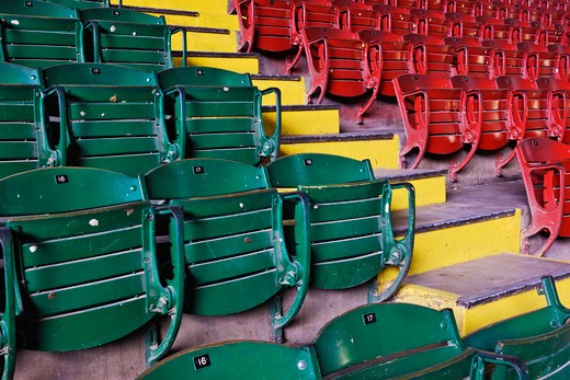 Fort Worth, Texas, USA , Fort Worth Stockyards Coliseum Seating : Stock Photo