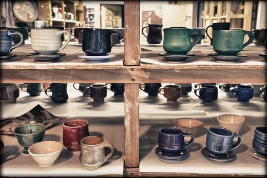 Pottery Studio, Hockinson, Washington, USA : Stock Photo