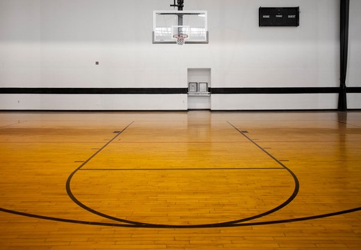 Basketball Court : Stock Photo