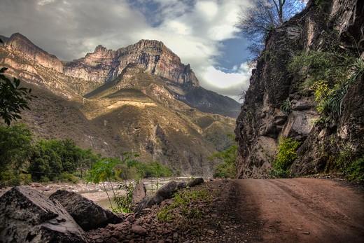 Copper Canyon Mexico : Stock Photo