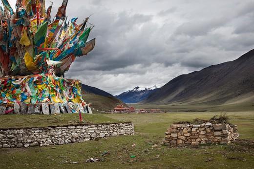 Sichuan Tibet : Stock Photo