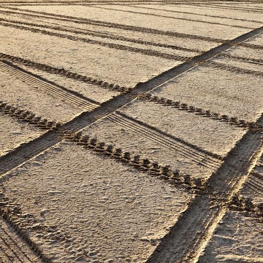 Bonneville Salt Flats landscape : Stock Photo