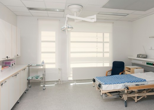 Delivery ward in hospital maternity unit. : Stock Photo