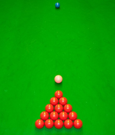 Snooker Room : Stock Photo
