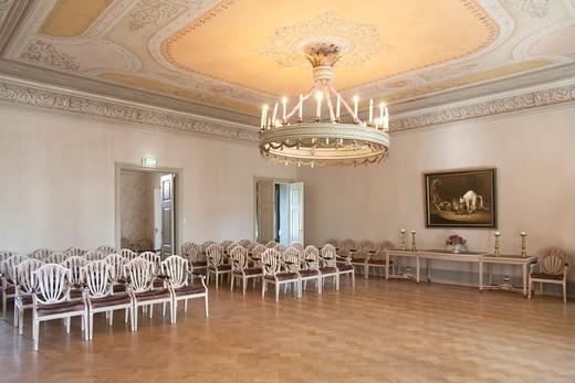 Sagadi manor in Estonia : Stock Photo