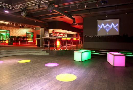 Nightclub Tallinn in Tartu, Estonia : Stock Photo