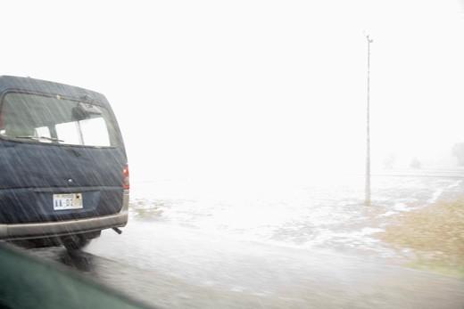 Kep, Cambodia.  Monsoon rain : Stock Photo