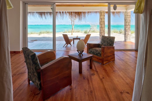 Luxury suite in Madagascar : Stock Photo