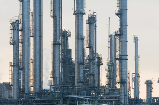 Oil refinery, Grangemouth, Scotland. : Stock Photo