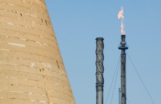 Oil refinery, Grangemouth, Scotland. : Stock Photo
