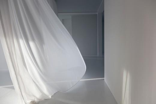 Berlin Germany /Livingroom of Modern Loft : Stock Photo