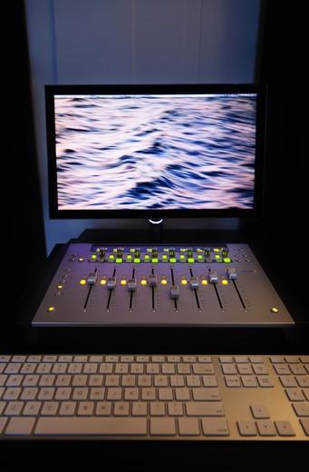 Virginia Beach, Virginia/Recording studio : Stock Photo