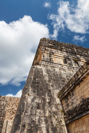 Templo de los Jaguares at Chichen Itza, Quintana Roo, Mexico : Stock Photo