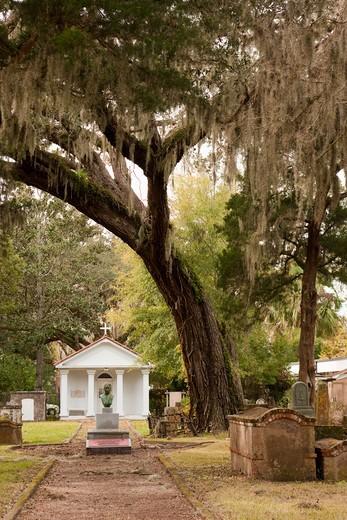 Tolomato Cemetery in St. Augustine : Stock Photo