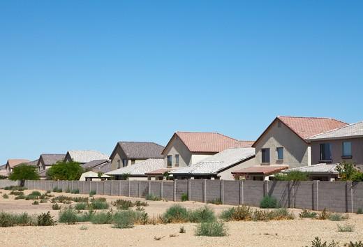Desert Homes : Stock Photo