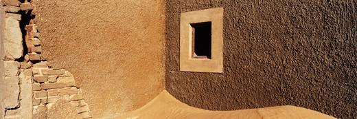 Desert Sand in Abandoned Building : Stock Photo