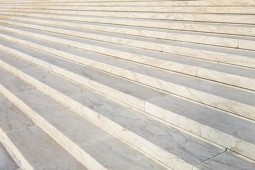 Washington, DC, USA, Marble Steps of the Supreme Court : Stock Photo