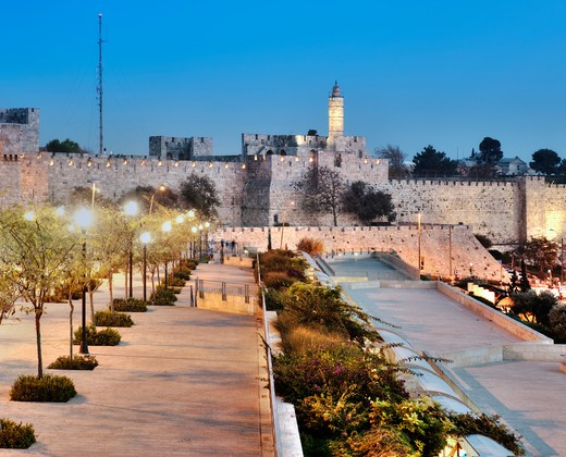 Jerusalem, Israel, Tower of David : Stock Photo
