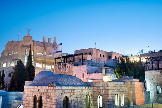 Jerusalem, Israel, The Jewish Quarter in Jerusalem : Stock Photo