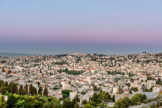 Nazareth, Galilee, Israel, Cityscape Of Nazareth : Stock Photo
