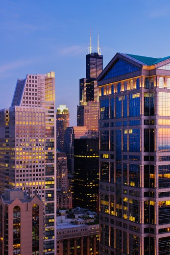 Chicago Skyscrapers : Stock Photo