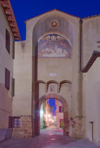 Italy , Porta al Murello : Stock Photo