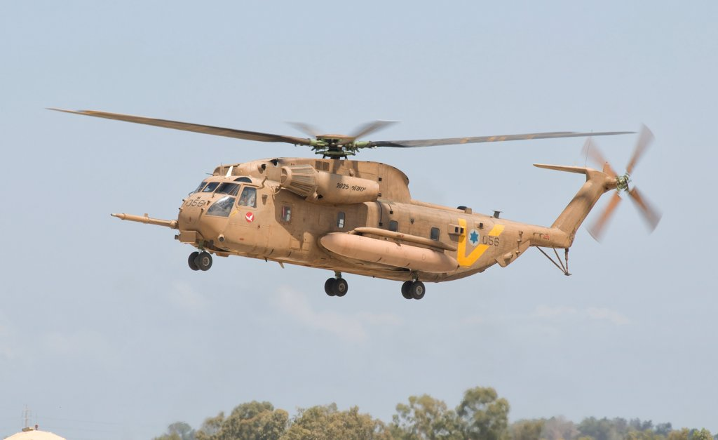 A Sikorsky CH-53 Yasur 2025 upgraded version of the Israeli Air Force. : Stock Photo