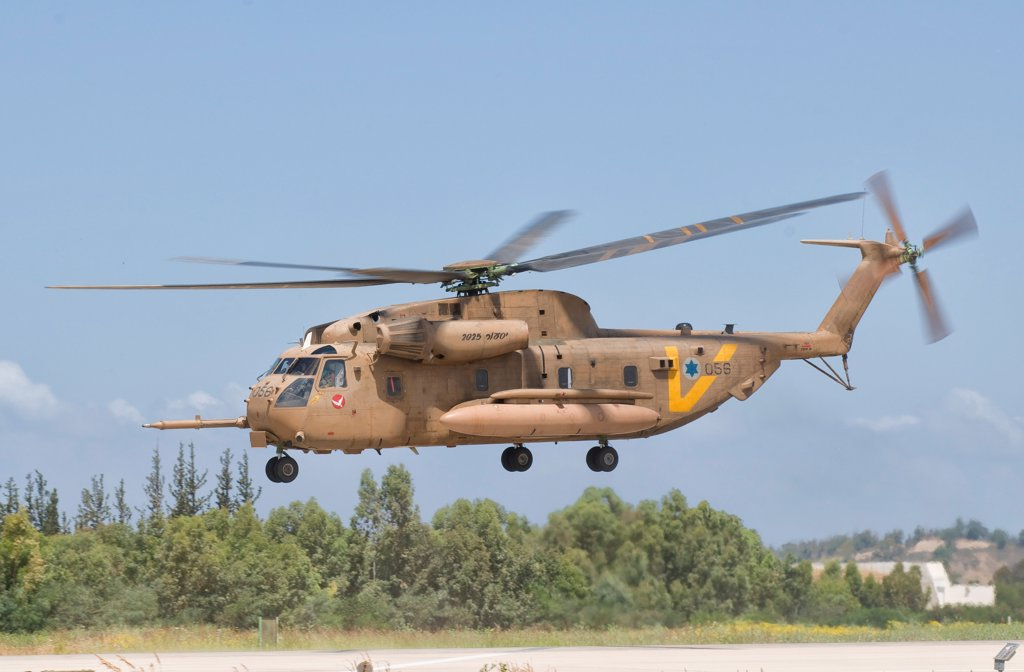 Stock Photo: 4239R-4960 A Sikorsky CH-53 Yasur 2025 upgraded version of the Israeli Air Force.