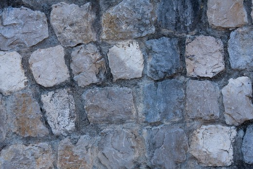 Stock Photo: 4240R-6086 background surface made of stones