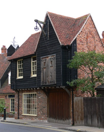 an restored old house in rochford : Stock Photo