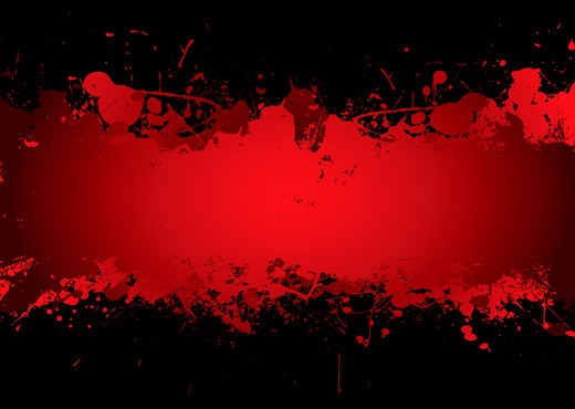 Bright red blood stream with abstract background effect with copyspace : Stock Photo
