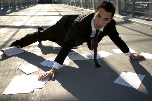 Man fall : Stock Photo