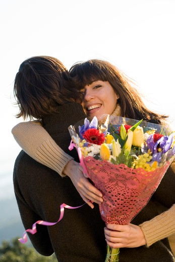 Stock Photo: 4252-10647 Couple flower bunch