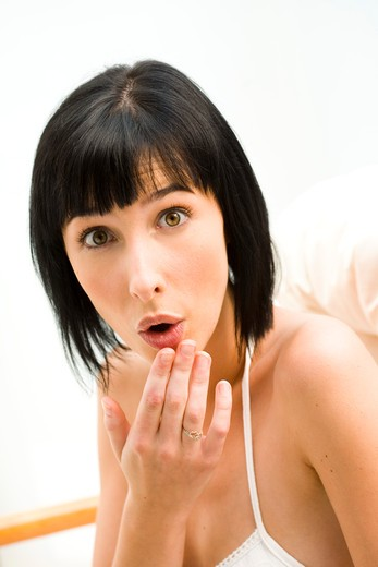 Stock Photo: 4252-12609 Woman expression portait