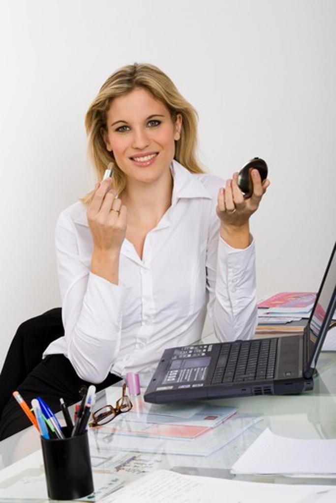 Woman gloss : Stock Photo