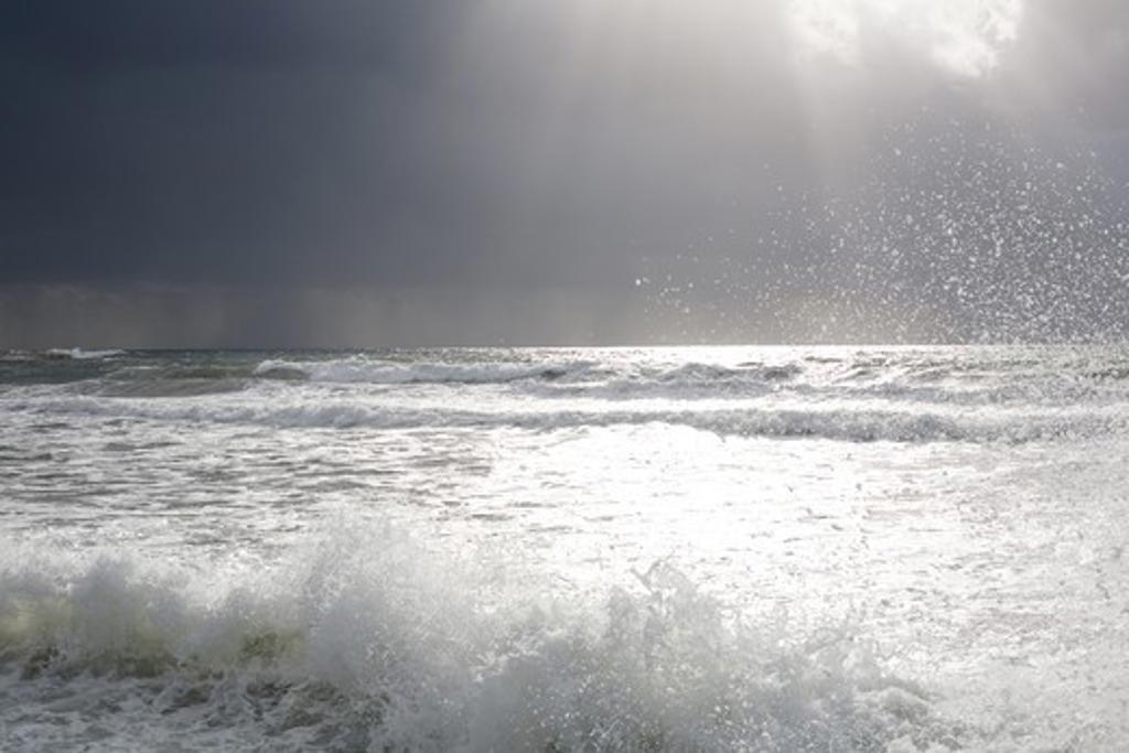Stock Photo: 4252-21139 Landscape sea storm